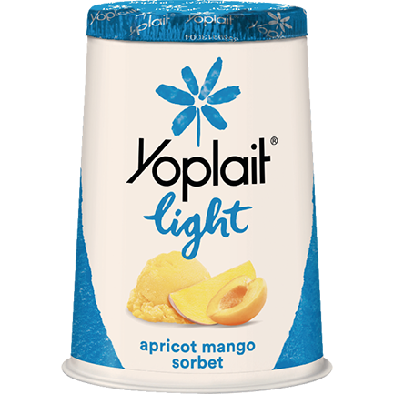 Yoplait® Light Apricot Mango Sorbet Yogurt
