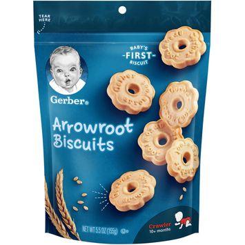 Gerber Arrowroot Biscuits, 5.5 oz