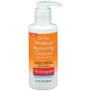Neutrogena® Oil Free Makeup Removing Cleanser