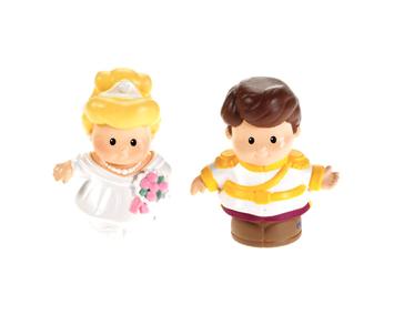 Mattel, Inc. Little People Disney Princess 2-Pack Cinderella & Prince Charming