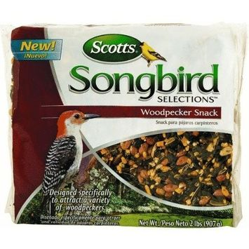 Scotts Songbird Songbird Selections 1022825 Woodpecker Snack Wild Bird Food Bag, 2-Pound (Discontinued by Manufacturer)