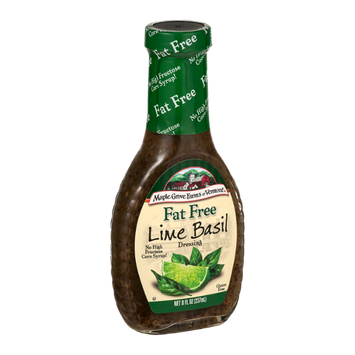 Maple Grove Farms of Vermont Fat Free Dressing Lime Basil