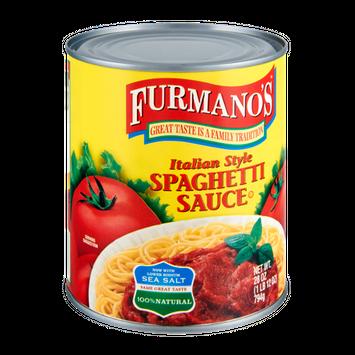 Furmano's Italian Style Spaghetti Sauce