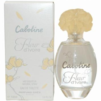 Gres Cabotine Fleur D'Ivoire Eau de Toilette Spray, 3.4 fl oz