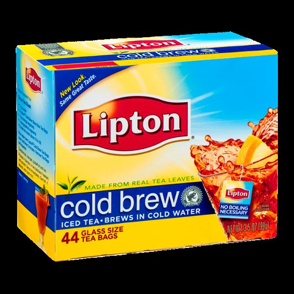 Lipton® Glass Size Tea Bags Cold Brew