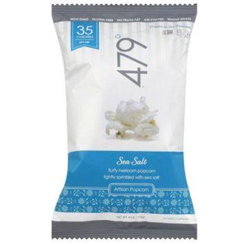 479 Degrees Sea Salt Artisan Popcorn, 4 oz, (Pack of 10)