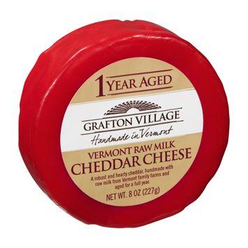 Grafton Village Cheese Wheel Cheddar 1 Year Aged