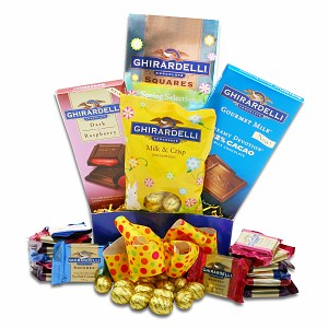 Alder Creek Gifts Ghirardelli Spring Gift Box