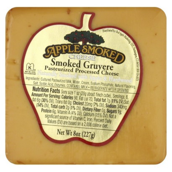 Apple Smoked Gruyere Cheese 8 oz