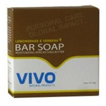 Vivo Natural Products Vivo Soap African Shea Butter Bar Soap 4.50 oz