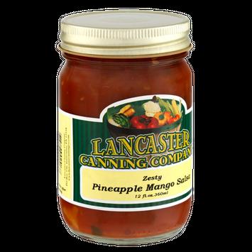 Lancaster Canning Company Zesty Pineapple Mango Salsa