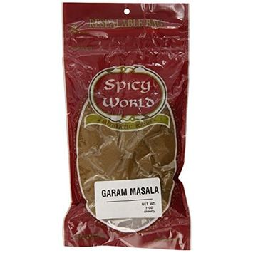 Spicy World Garam Masala, 7-Ounce Pouches (Pack of 6)
