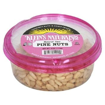 Unknown Klein's Naturals Pine Nuts, Raw Shelled, 4-Ounce Tubs (Pack of 6)
