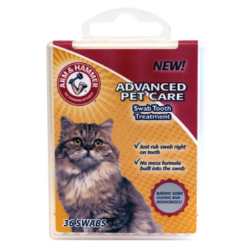 ARM & HAMMER™ Tooth Swab Cat Treatment