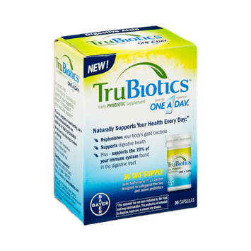 TruBiotics Probiotic Supplement Capsules