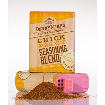 DennyMike's Chicken Spice Rub - Chick Magnet Premium Seasoning Blend - 3oz Shaker - Gluten Free -