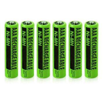 Clarity NiMH AAA Batteries (6-Pack) NiMh AAA Batteries 4-Pack