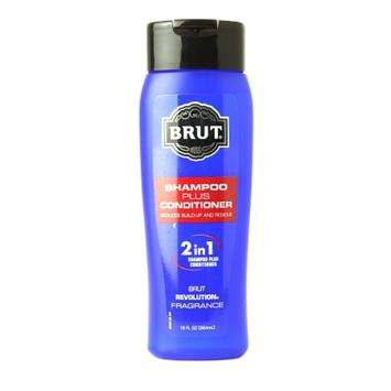 Brut 2 in 1 Shampoo Plus Conditioner, Revolution Fragrance, 13 fl oz