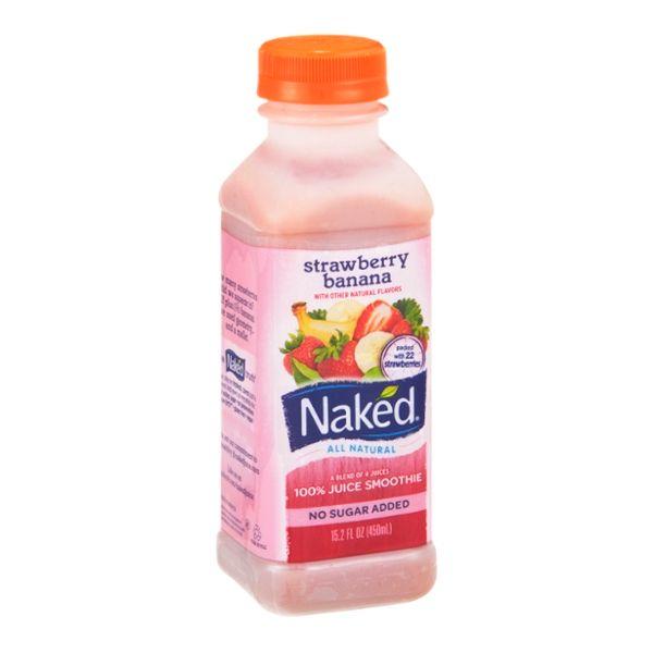 Naked 100% Juice Smoothie Strawberry Banana