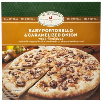 Archer Farms Baby Portobello & Caramelized Onion Wood-Fired Pizza 12.