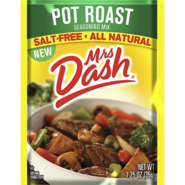 Mrs. Dash Pot Roast Seasoning Mix 1.25 oz