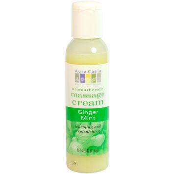 Aura Cacia Ginger/Mint Aromatherapy Massage Cream