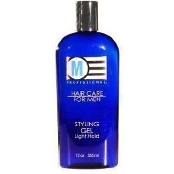 Salon Grafix M Professional Hair Care for Men Styling Gel Light Hold 12 Oz (2 Pack)