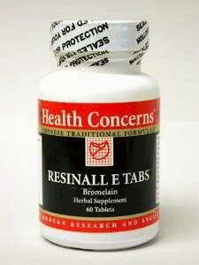 Health Concerns Resinall E Tabs 60t