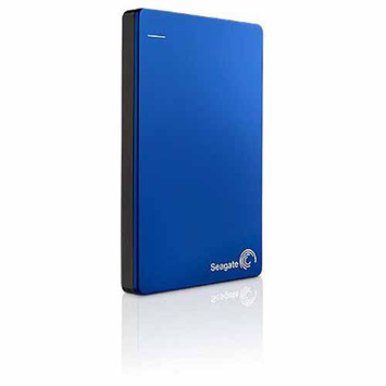 Seagate Backup Plus 1TB Slim Portable External Hard Drive, Blue