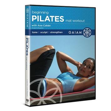 Gaiam Pilates Beginning Mat Workout DVD