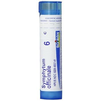 3M Boiron Homeopathic Medicine Symphytum Officnale, 6C Pellets, 80 Count Tube