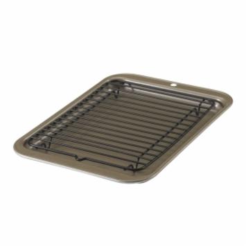 Nordic Ware 2 Compact Oven Broiler Set, Metallic, 1 ea