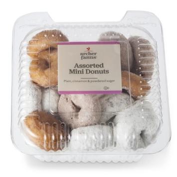 Archer Farms Assorted Mini Donuts Tub
