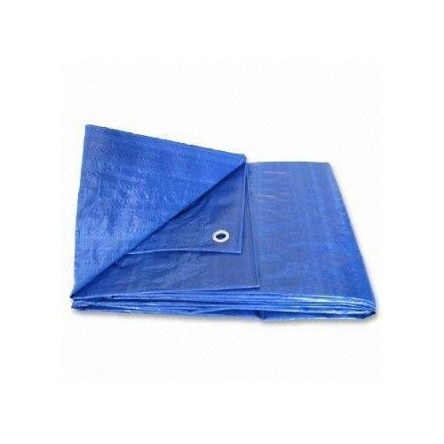 Haolam 25X40 Blue Tarp Tarpaulin Canopy Tent, Boat. RV or Pool Cover