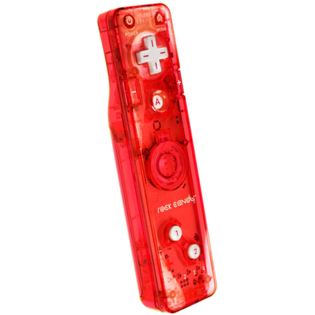 PDP Rock Candy Gesture Controller, Red (Wii)