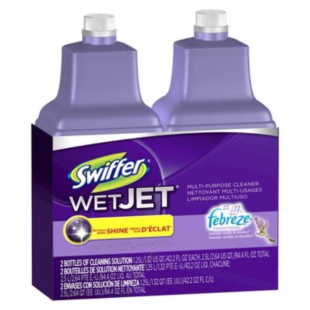 Swiffer WetJet Febreze Lavender Vanilla & Comfort Scent Liquid