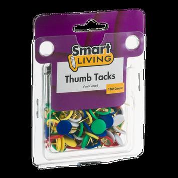Smart Living Thumb Tacks - 100 CT