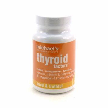 Michaels Naturopathic Programs Michael's Naturopathic Programs - Thyroid Factors - 90 Vegetarian Capsules