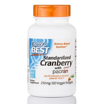 Doctor's Best Standardized Cranberry with Pacran 250mg Doctors Best 120 VCaps