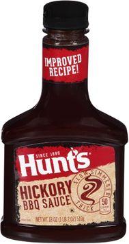 Hunt's Hunts BBQ Sauce Hickory & Brown Sugar, 21.6 oz, 3 Pack - 3 pk.