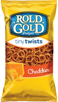 Rold Gold® Cheddar Flavored Tiny Twists Pretzels