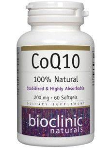 Bioclinic Naturals - CoQ10 200 mg. - 60 Softgels