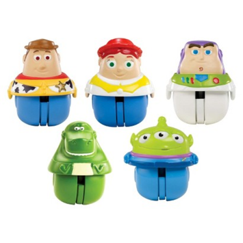 Mattel Disney Toy Story Zing'ems Figures - Pack of 5
