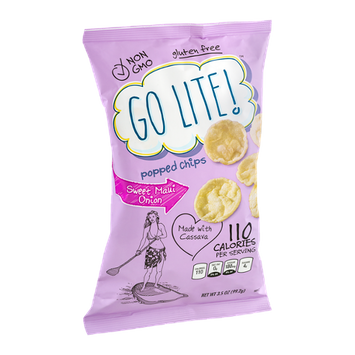 Go Lite! Popped Chips Sweet Maui Onion