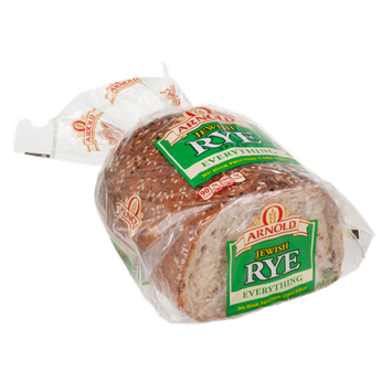 Arnold Bread Jewish Rye Everything