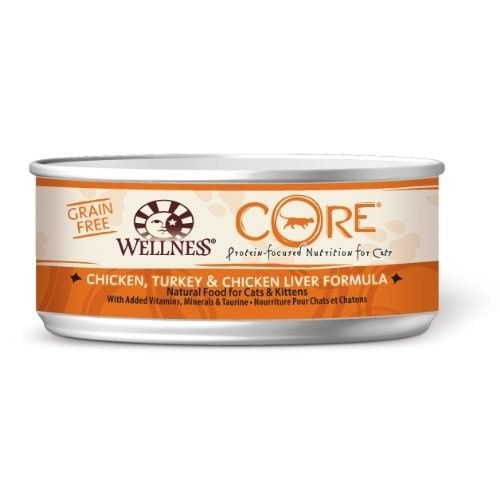 Wellness CORE Natural Food for Pets Wellness Natural Grain Free Wet Canned Cat Food
