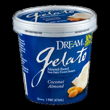 Dream Gelato Non-Dairy Frozen Dessert Coconut Almond