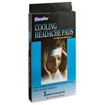 Cooling Headache Pads, Set of 3 by EasyComforts