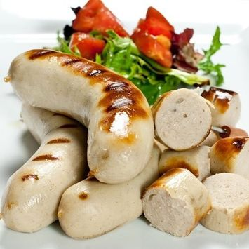 Italia Gourmet All Natural Boudin Blanc Sausages 4 links 1 lb