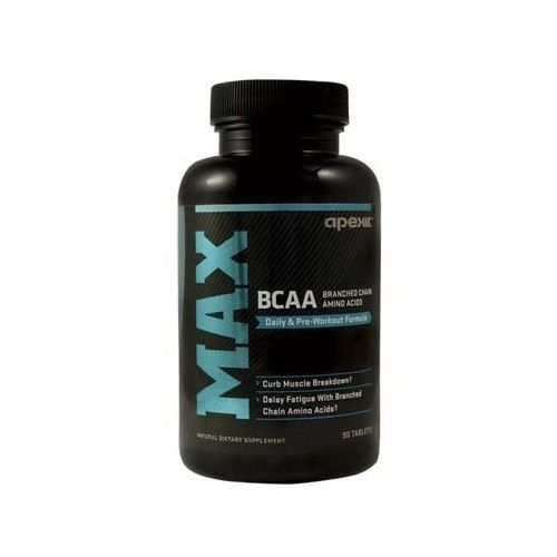 Apex Fitness Apex MAX BCAA (Branched Chain Amino Acids), 90 Tablet Bottle